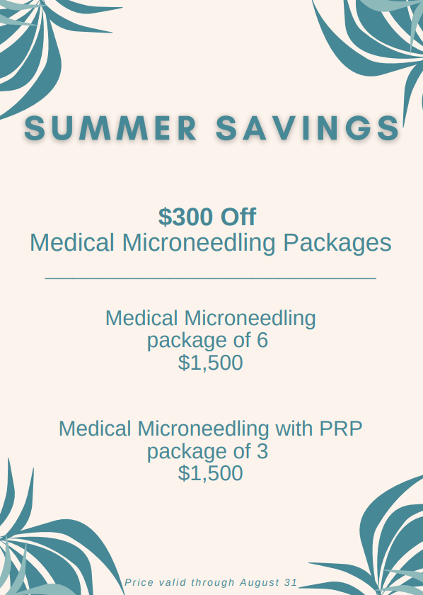 Microneedling Flyer August 2020
